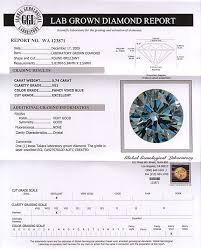 Blue Diamonds Lab Grown 74ct Blue Diamond Round Takara