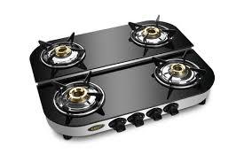 four burner glass top lpg stove four burner glass top gas stove d d ss model manufacturer from new delhi