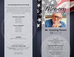 Memorial Pamphlet Template 17 Funeral Program Templates Free Premium Templates
