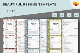 Visual Artist Resume Template