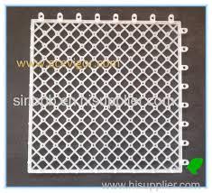 interlock plastic base pad grid mat for