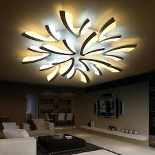 dining room ceiling light fixture gleam acrylic thick modern led ceiling lights for living room bedroom