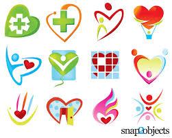 free free vector heart shaped logo templates psd files vectors graphics 365psd