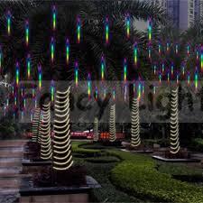 Diy Meteor Shower Lights Meteor Shower Rain String Light Led Tube For Christmas Lights Wedding Multi Color 30cm Eu Plug
