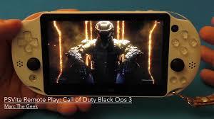 PSVita Remote Play Call Duty Black Ops 3