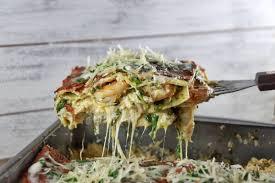 Creamy Pesto Seafood Lasagna - Kenneth ...