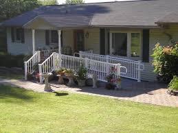 Porches Project Five Handicap Ramp Pocono Modular Homes Mark Home Handicap Ramp
