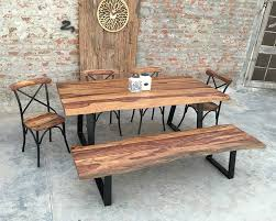 Rosewood Dining Table Natural Wood Dining Table Live Edge Rosewood Dining Set Natural