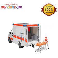 Báo giá Xe cứu thương Bruder MB với tài xế BRU02536 trắng chỉ 1.079.000₫