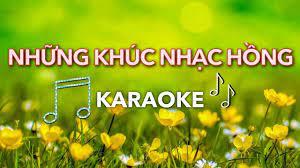 ♫ [Karaoke] Những khúc nhạc hồng (Có con chim xanh...) | Karaoke Thiếu nhi  thế hệ trẻ - YouTube