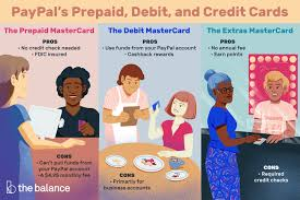 paypal debit and credit cards