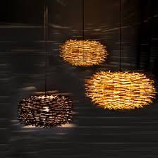 Creative Nest Rattan Woven Pendant Light Retro Pendant Lamp Living Room  Bedroom Restaurant Country Pendant Lamp