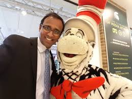"""Prabu David on Twitter: """"Guess who gave me a hug today? Looking forward to  the launch of @WKAR PBS Kids on Saturday with CitH and other celebs.  @MSUComArtSci… https://t.co/NEv6iIaoXi"""""""