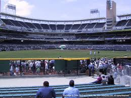 Petco Park View From Bleachers Vivid Seats