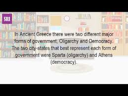 athenian form of government what was the government like in athens and sparta youtube