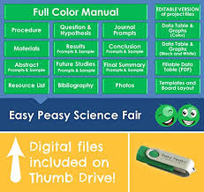 Easy Peasy Science Fair Project Kit Enzyme Eaters Top Science