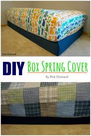 diy box spring cover
