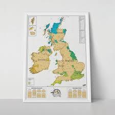 scratch map uk ireland