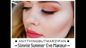simple summer makeup look inglot brand spotlight you