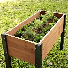 c coast bloomfield wood raised garden bed 40l x 20d x 29h in hayneedle