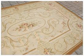 aubusson rug pastel colors