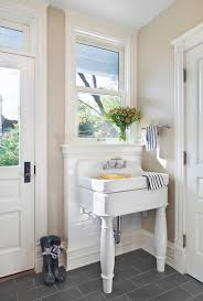 bathroom utility sink. Bleeker Beige Cottage Laundry Room Benjamin Moore Pertaining To Utility Sink Inspirations 12 Bathroom