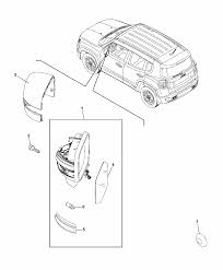 2017 jeep renegade mirror exterior mopar parts giant