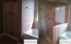 Small Picture DIY Tileshower Remodel Bathroom Pinterest Diy Shower Remodel