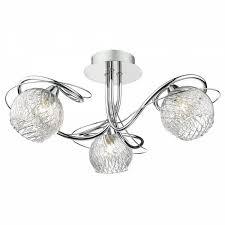 rehan 5 light ceiling light polished