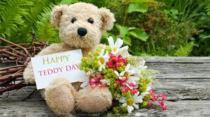 Teddy day hd wallpaper
