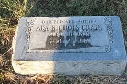 Ada Nichols Crain (1875-1957) - Find A Grave Memorial