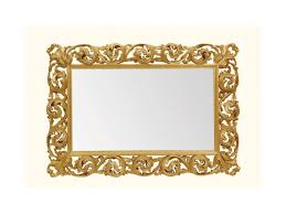 wall mirror art 116 horizontal mirror with wooden carved frame