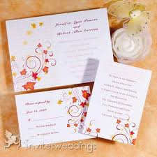 31 best fall wedding invitations images on pinterest Diy Wedding Invitations Fall Theme top fall wedding ideas and wedding invitations Fall Color Wedding Invitations