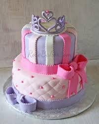 Tiara And Bows Princess Cake Teagans Stuff Cake Little Girl