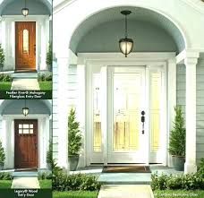 entry door reviews doors review contemporary pella fiberglass with sidelights