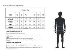 Adidas Men S Size Chart Clothing Adidas Mens Clothes Size Chart Rldm