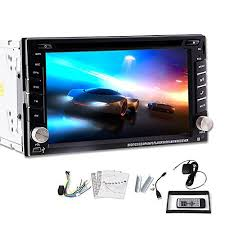 headunit rvgeek rv truck electronics double din indash car dvd player vehicle video gps navigation bluetooth ipod stereo radio headunit