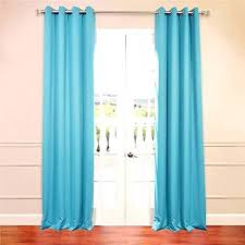 Navy Aqua Curtain Panel