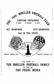 Moeller High School 1969 70 Football News Articles By