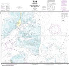 Noaa Nautical Chart 13244 Eastern Entrance To Nantucket Sound