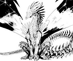 Dragon Coloring Pages Realistic Photo 78944 Gianfredanet