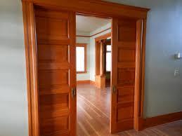 interior sliding double doors for modern concept