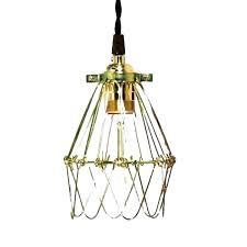 pendant cage light art vintage pendant lights led lamp metal cube antique wire cage pendant light