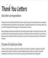 Internship Thank You Letter Sample Ideas