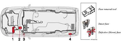2005 volvo xc70 if an electrical component fails to function it is possible that a fuse has blown due to a temporary circuit overload