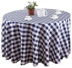comfortable table covers beautiful round table cloth blue and white lattice rustic tablecloths by blancho bedding