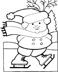 Small Picture Sumptuous Winter Coloring Pages For Kids Printable Winter Coloring