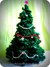Crochet Christmas Tree Pattern Adorable The Lazy Hobbyhopper Crochet Christmas Tree