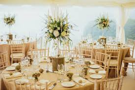 alternatively you can use trestle tables singularly or have longer rows for banquet style dining