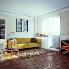 Home Designs: Stylish Small Apartment - Small Home Design